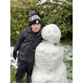 Alexander and his snowman