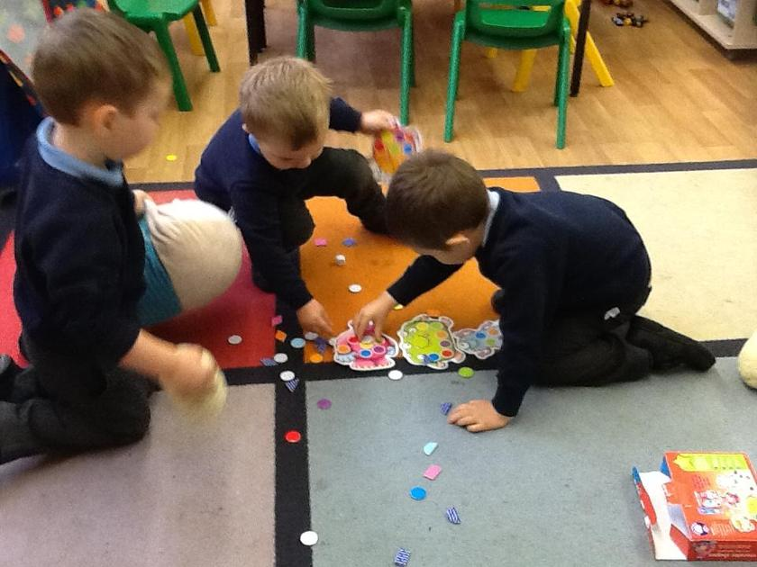 Solving the puzzle together!