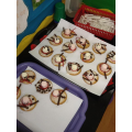 Christmas cooking! We made snowmen biscuits.