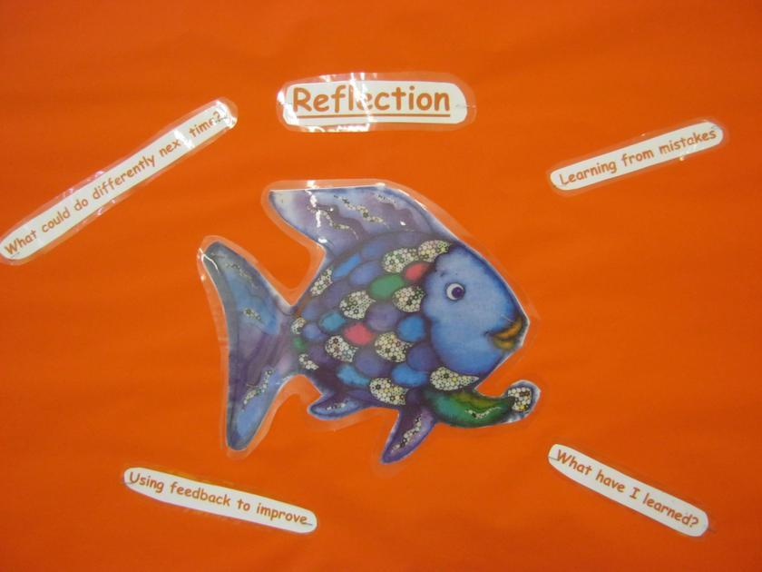 The Rainbow Fish displays 'Reflection'.