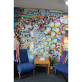 Display in reception
