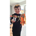 Charlie-George's Chinese dragon