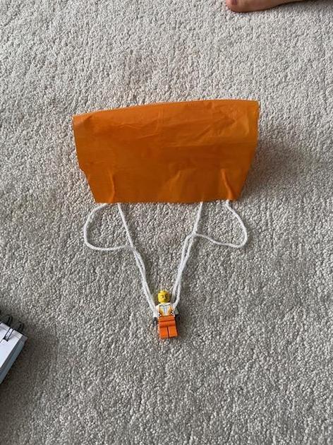 Frankie's parachute