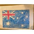 Micah's Australian flag