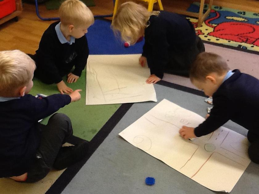 Designing a road for our car.