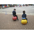 Bouncing on the space hoppers
