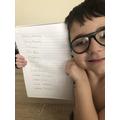 Jenson's handwriting