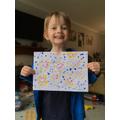 Josh's dot art