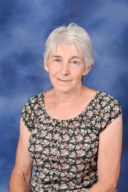 Mrs Liz Brooker, School Secretary
