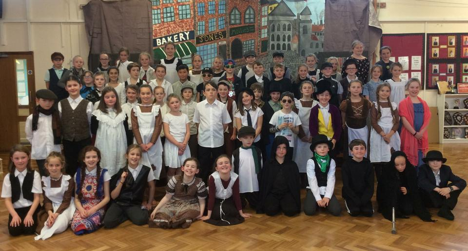 Year 5 'Ebeneezer' - Autumn Term Performance