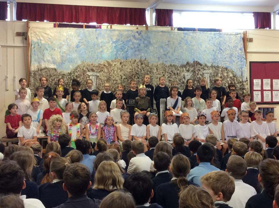 Year 4 'Fleeced' - Spring Term Performance
