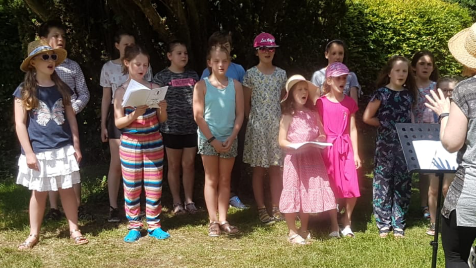 Choir singing: St Mary's Church Scarecrow Festival