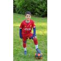 Smyan has been improving his football skills.