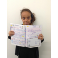 Fabulous extended writing by Kenza