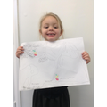 Grace has drawn a beautiful journey.