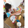 Rosemary has been doing some beautiful painting.