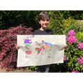 Adam has made a super world map picture.