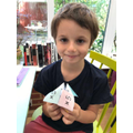 Rudi has been working really hard at home- well done!