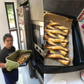 Smyan has made delicious Nutella pastries.