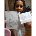 Hanisha had made some a super Claude picture.