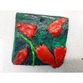 2-D Relief Clay Tile - Ranveer