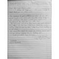 Sanaya has written a fantastic letter.