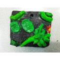 2-D Relief Clay Tile - Jaydon