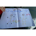 Daisy has made a beautiful picture for us!