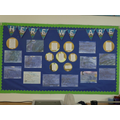 Hawthorn 'Here We Are' display