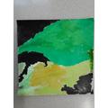 Wallpaper painting - Zachary