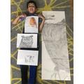 Bodhi has been doing some amazing drawings.