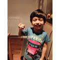 Arjun has made a super supertato character