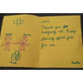 Radha has written a lovely thank you to NHS