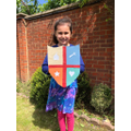 Arissa has made a great coat of arms.