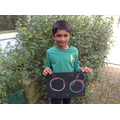 Abbas has been making lovely bubble art!