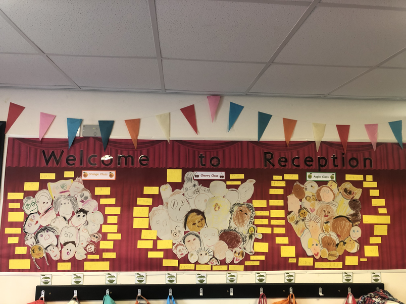 Look at our lovely welcome display!