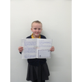Brilliant extended writing by Lilly