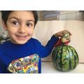 Daniyal has made a great supertato character.