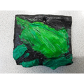 2-D Relief Clay Tile - Zachary