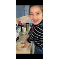 Sienna has been busy baking!