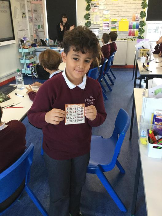 Maths Week England- BINGO!