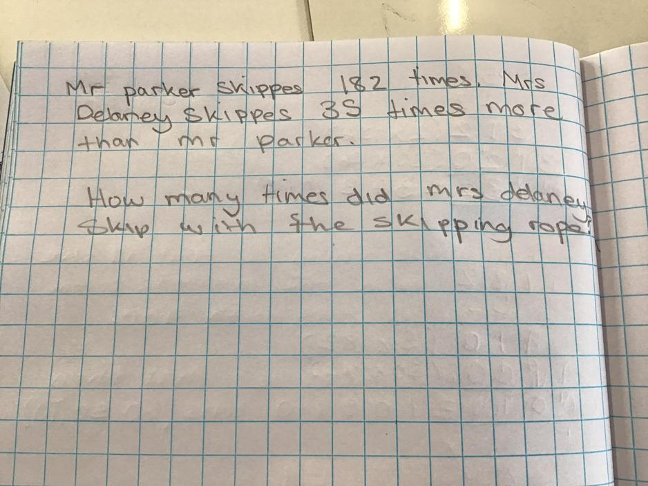 Long multiplication word problems