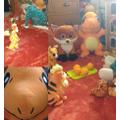 Ava had an orange everything tea party