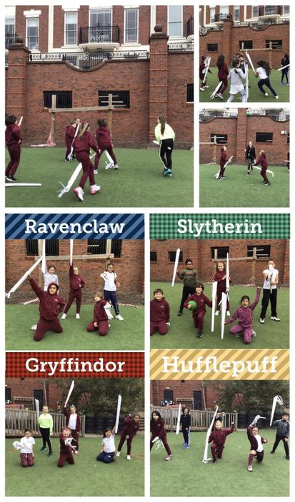 Let's play Quidditch!