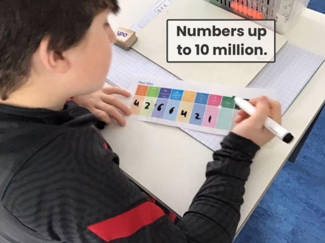 Maths- numbers up to 10 million!