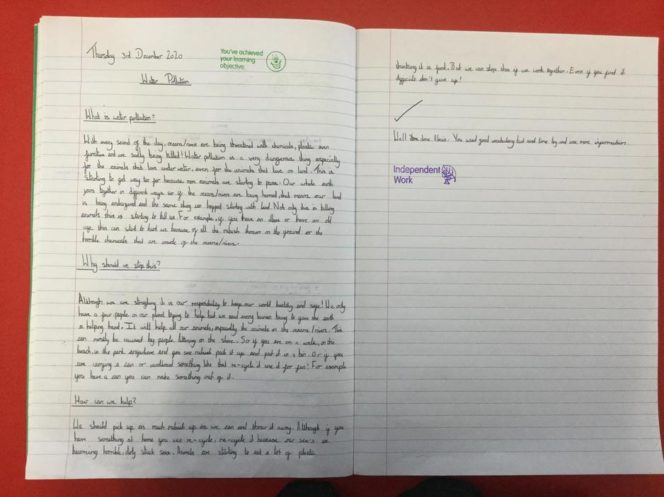 English- persuasive writing