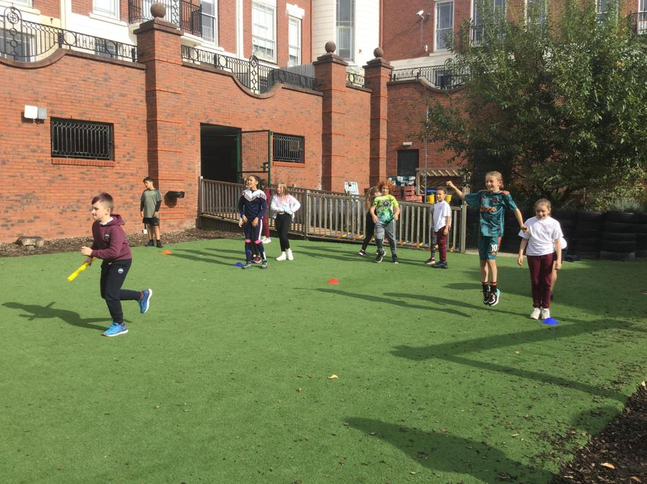 PE Lesson- Fun and games outside!