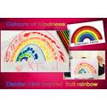 Tasia' rainbow of fruits