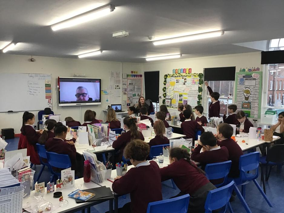 Christmas Virtual Meeting with Governor, Mr Merivale