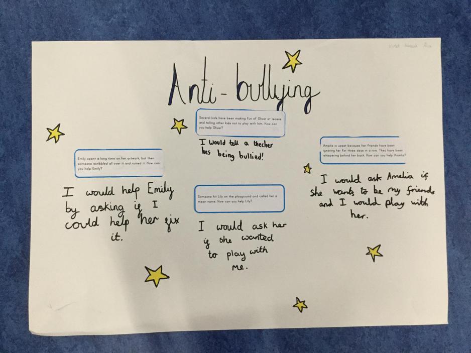 PSHE- Anti-Bullying work